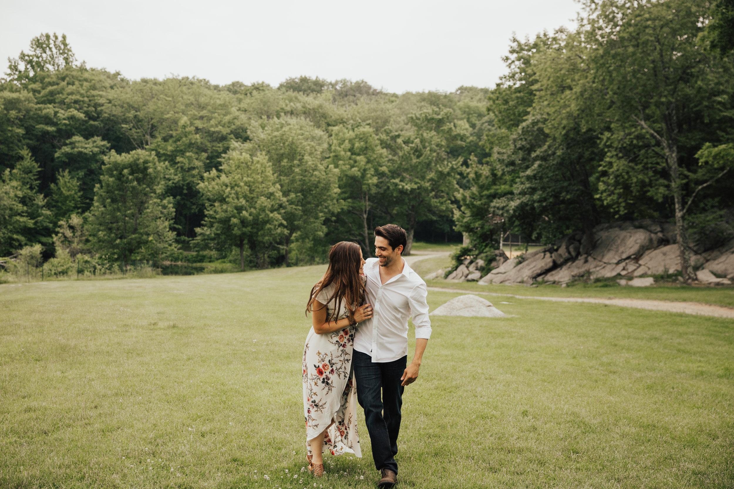 Hipster engagement photography New York