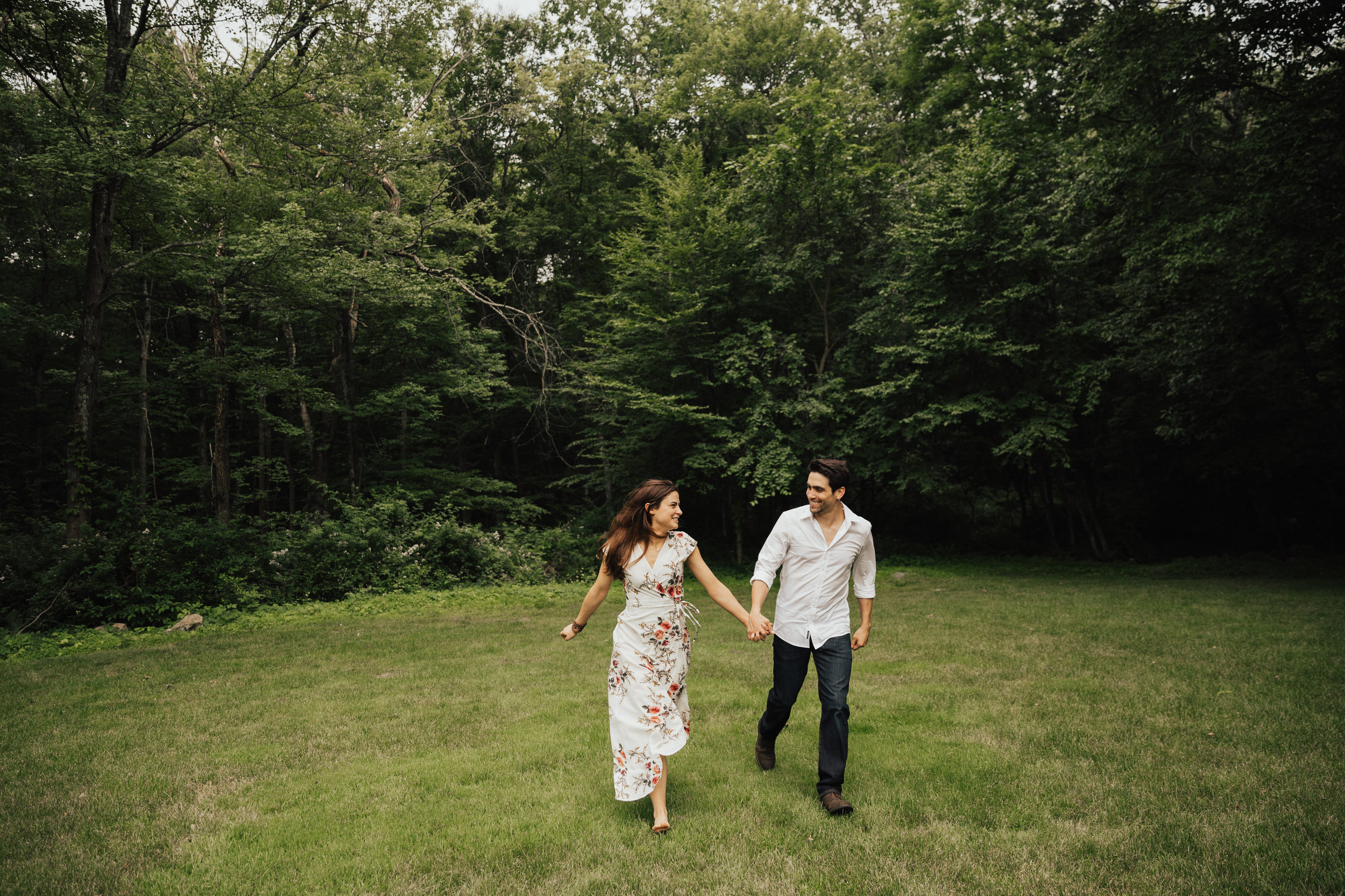 Authentic nyc engagement photographer