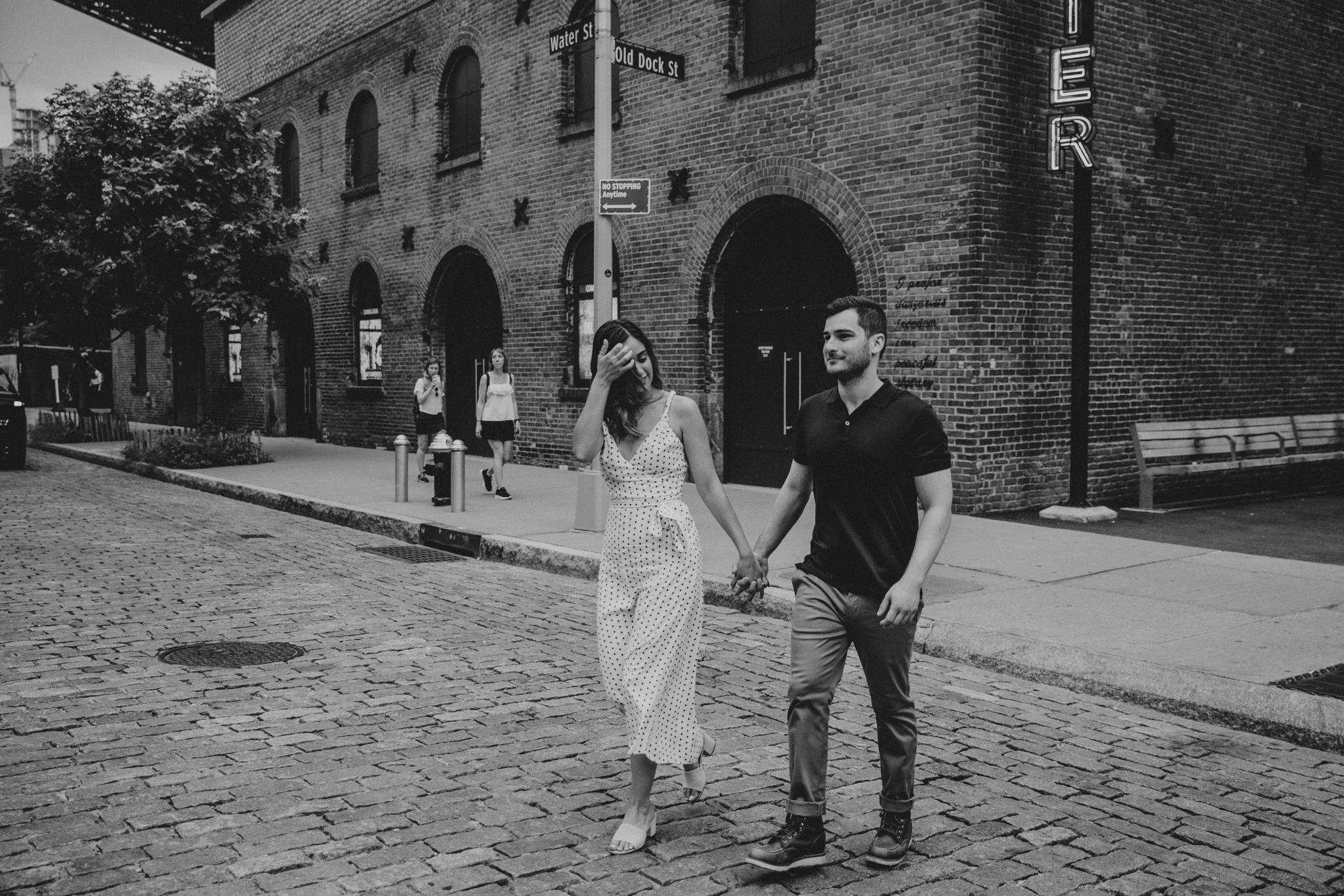 Adventurous Elopement Photographer brooklyn new york
