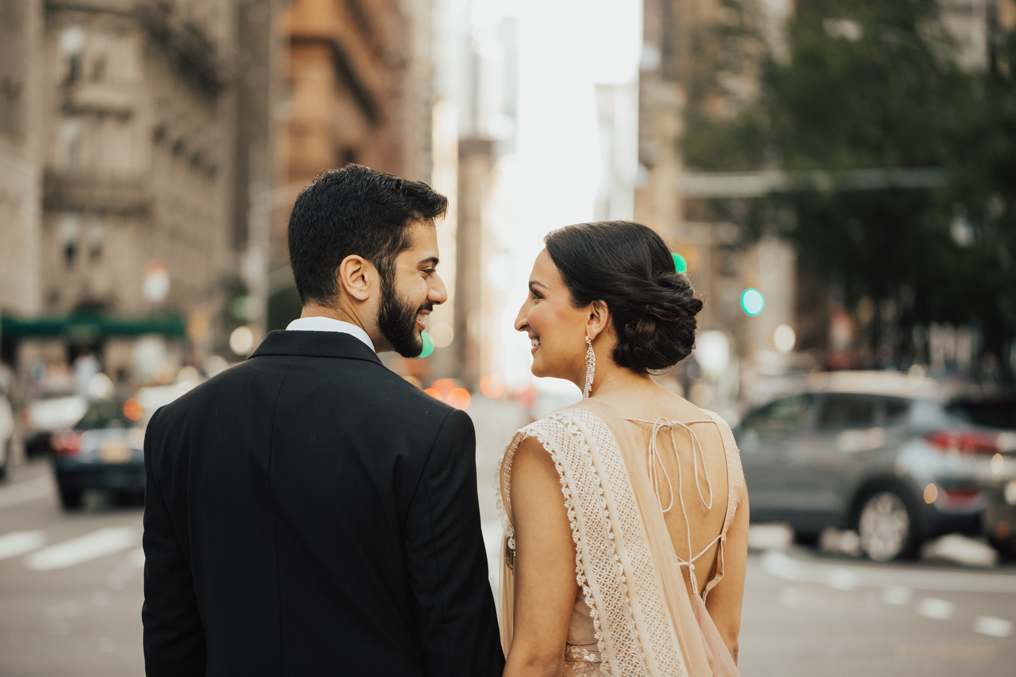 modern indian wed
