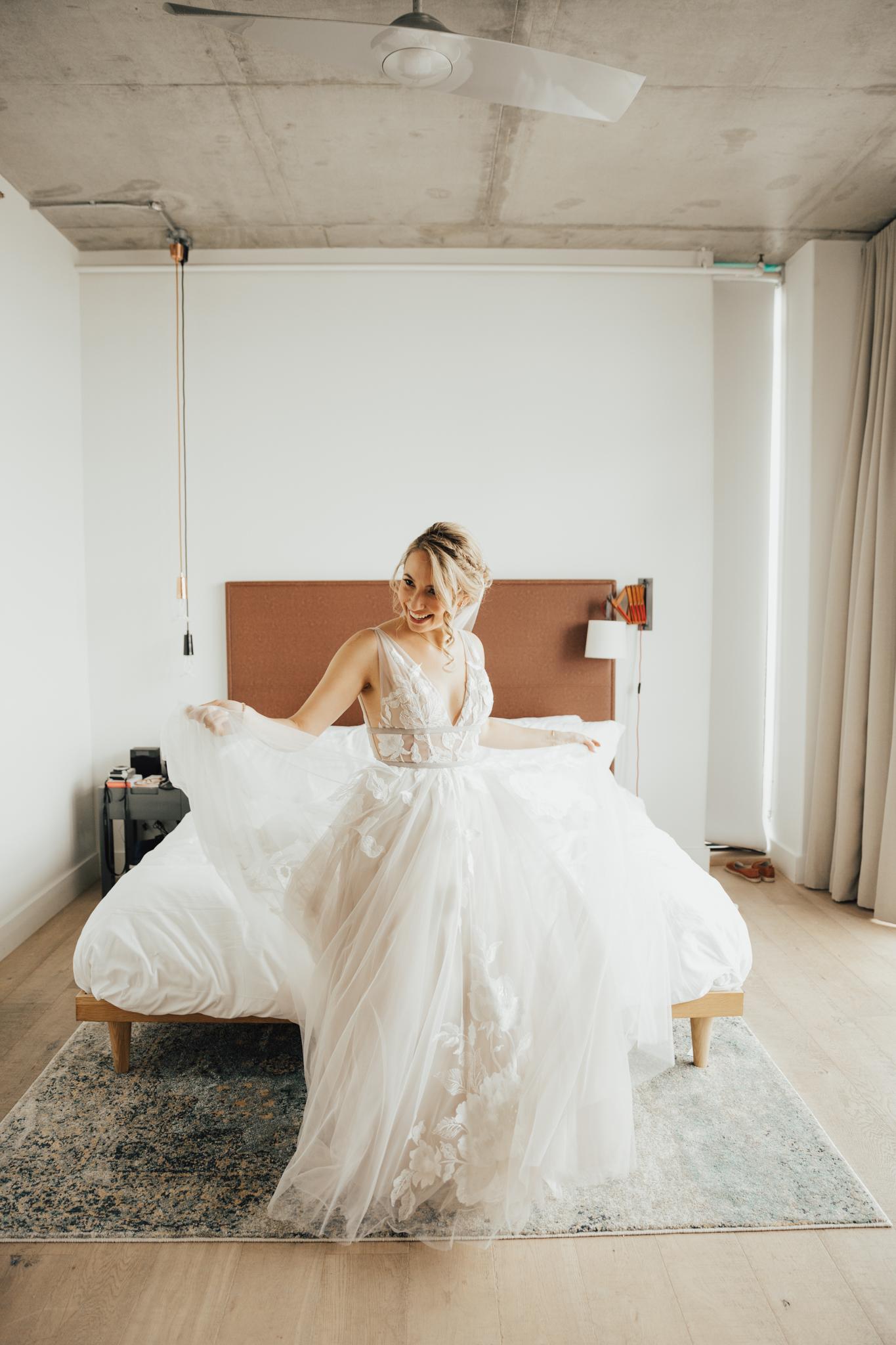 Beholden wedding dress