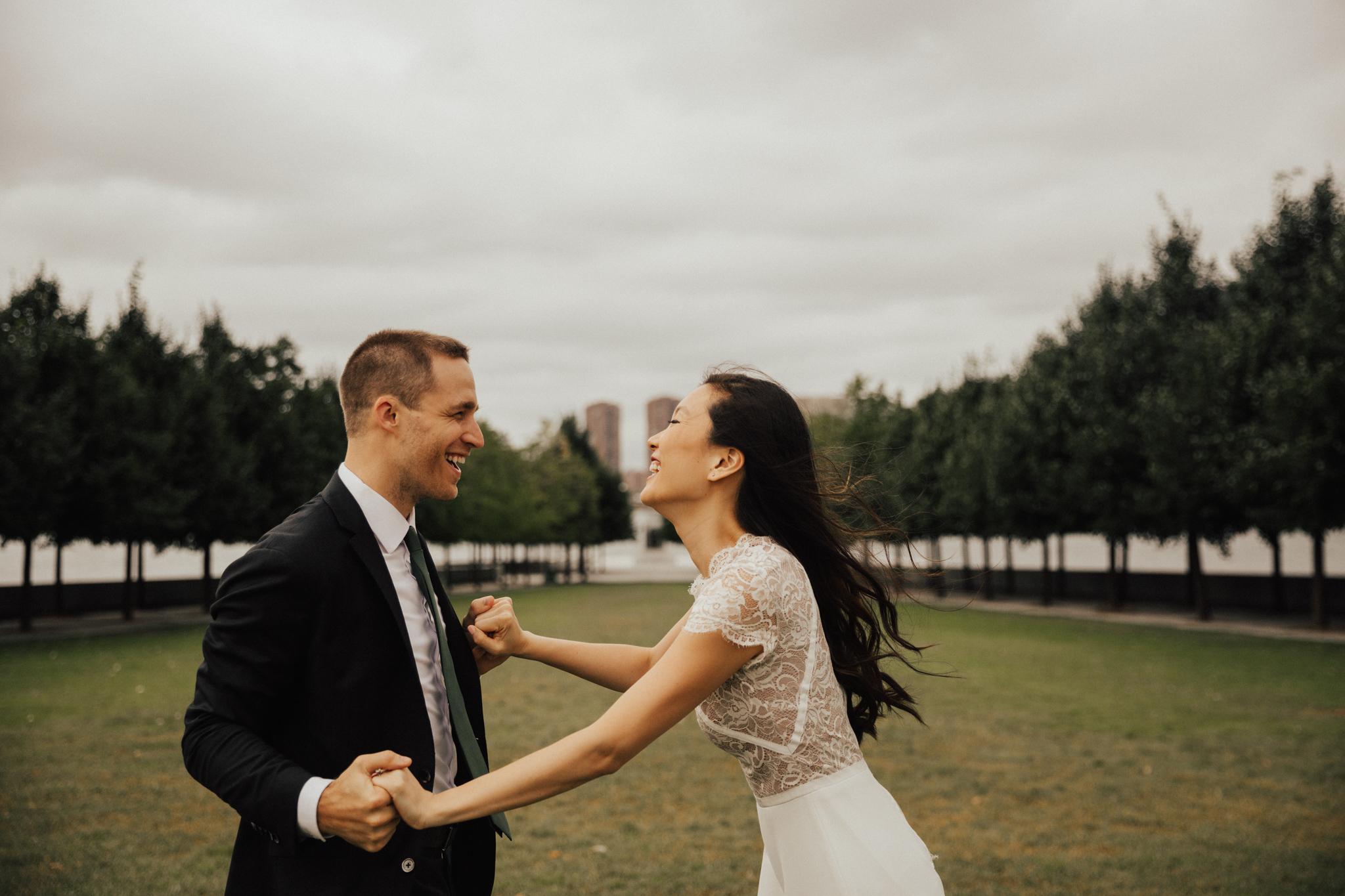 candid nyc wedding photographer