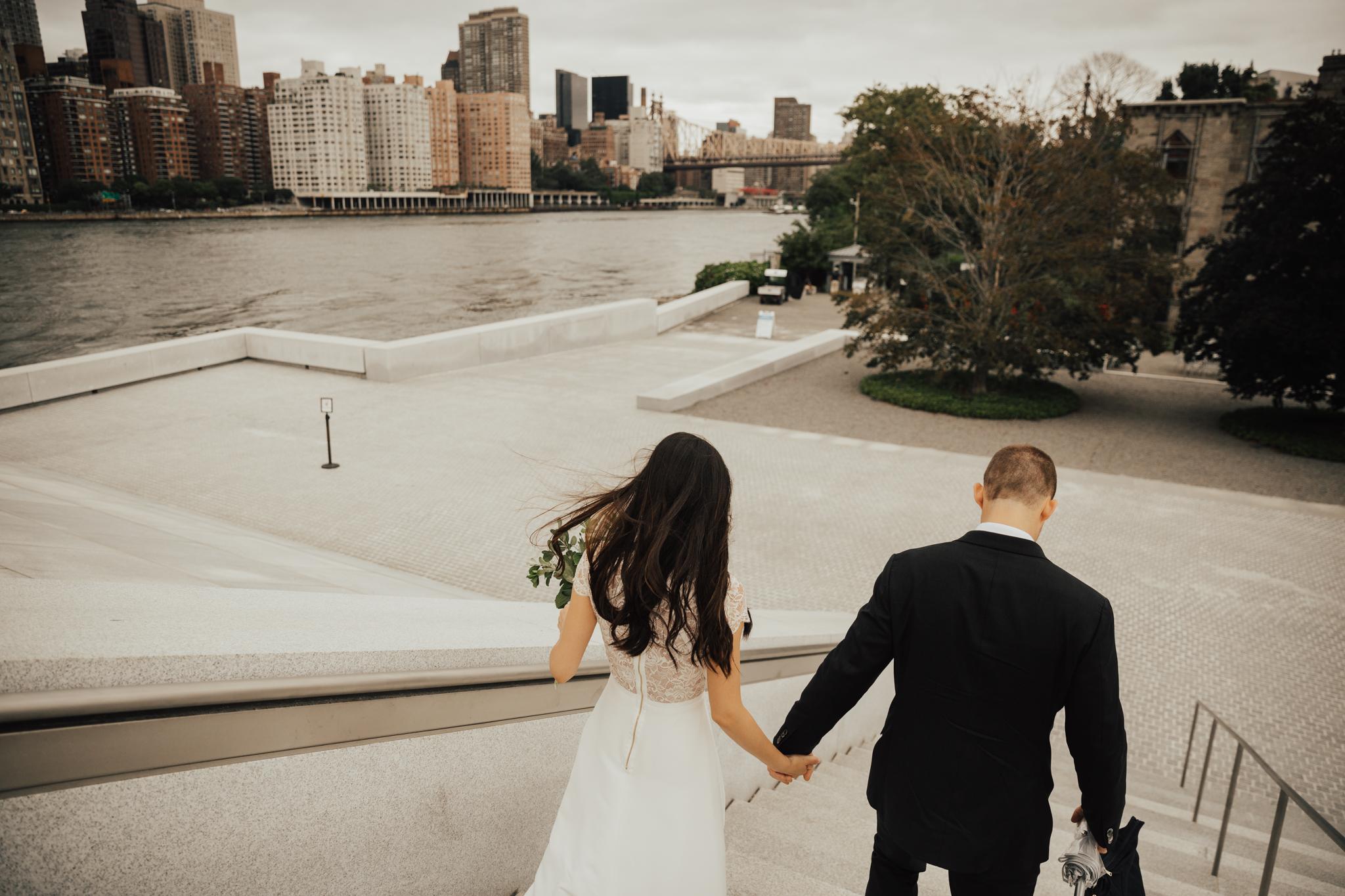 nyc intimate wedding elopement