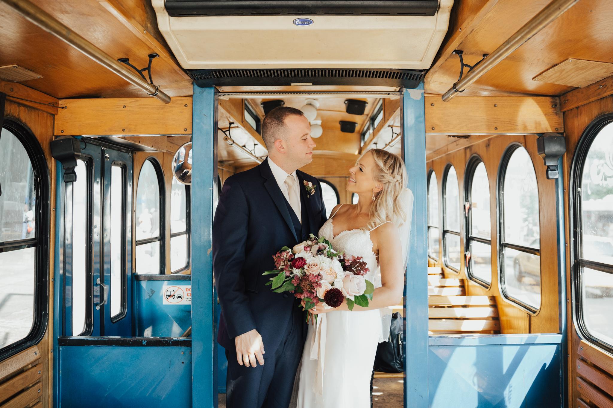 trolley wedding nyc