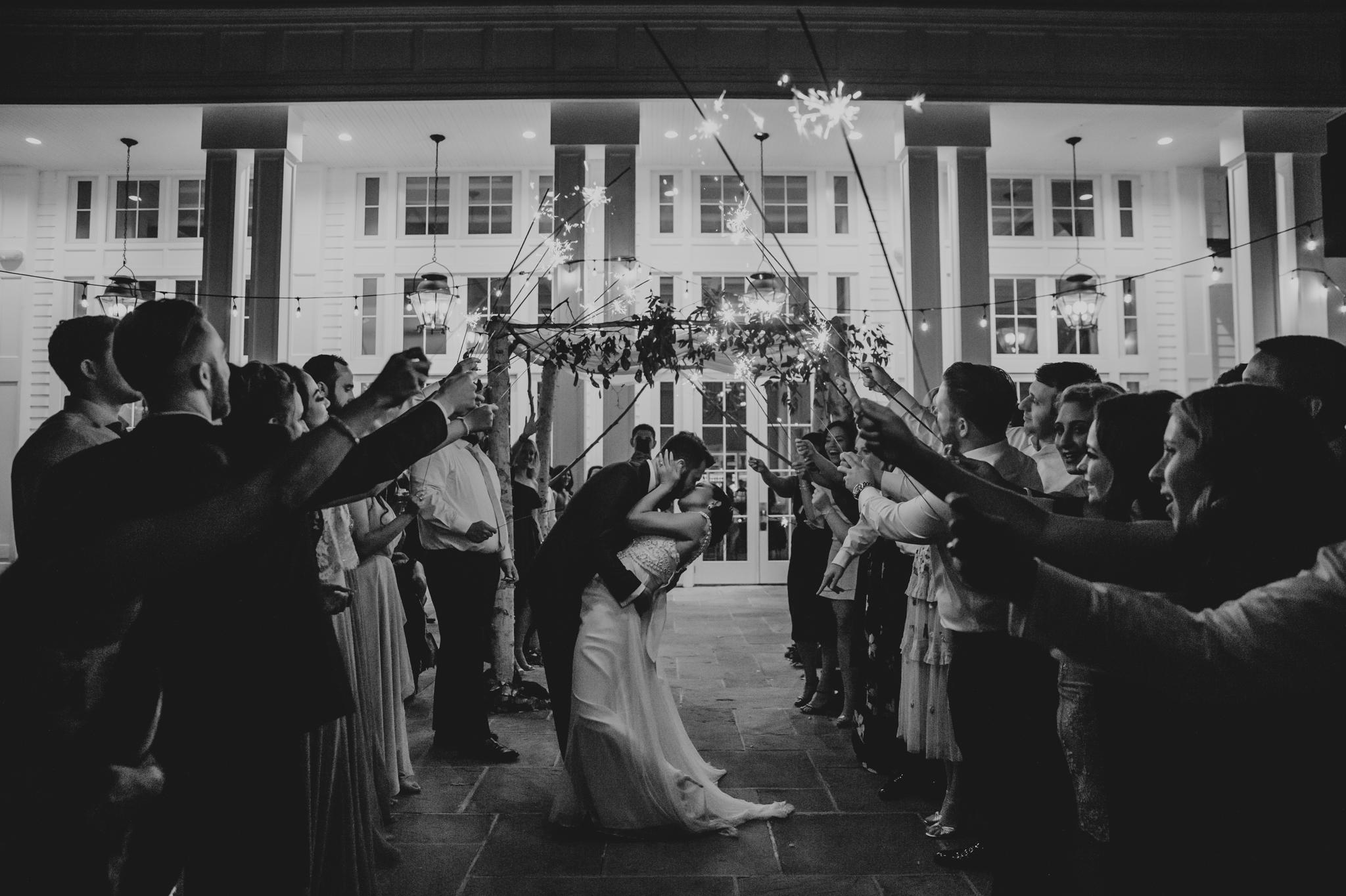 sparklers wedding nyc