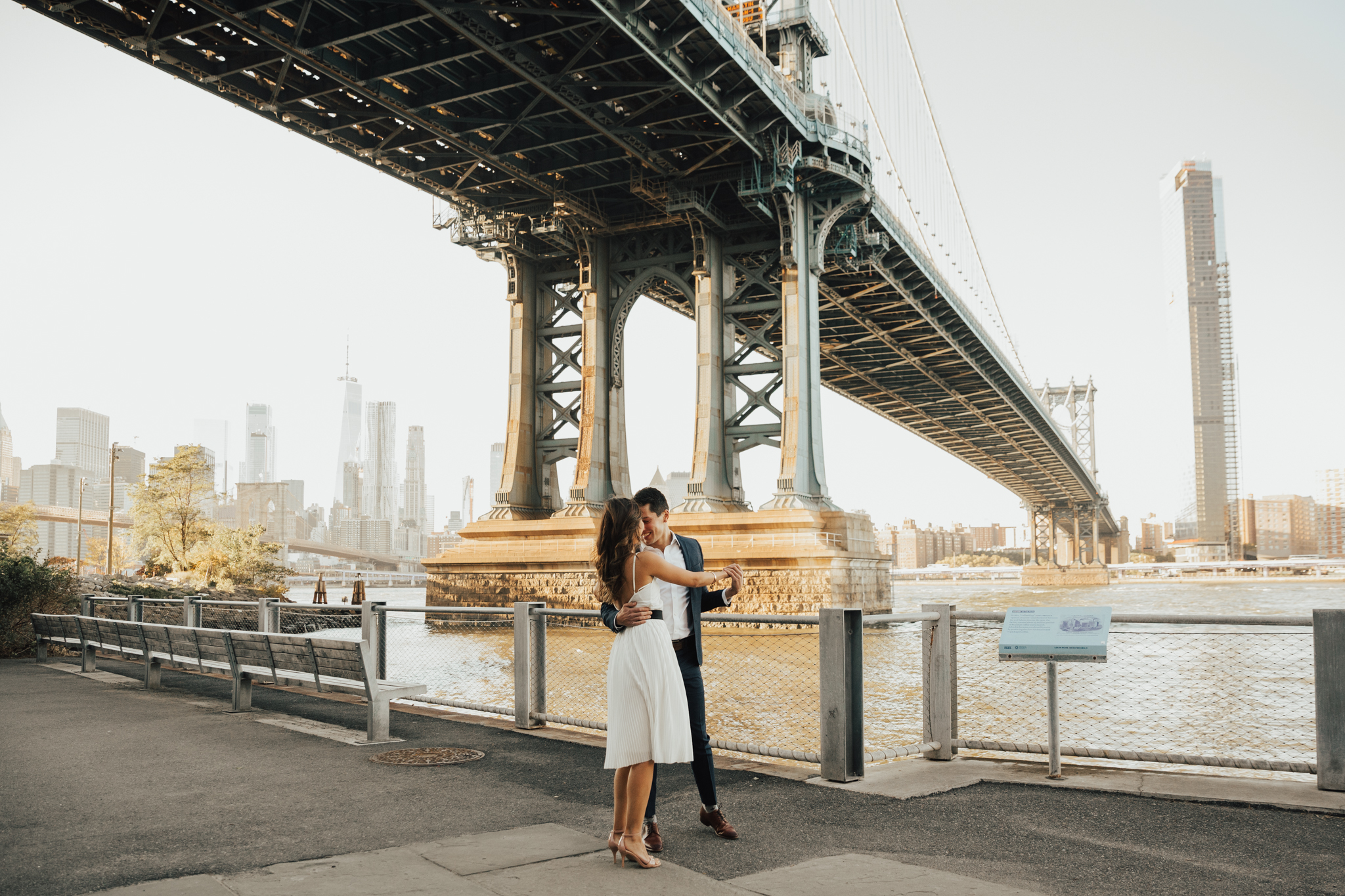 brooklyn engagement photoshoot