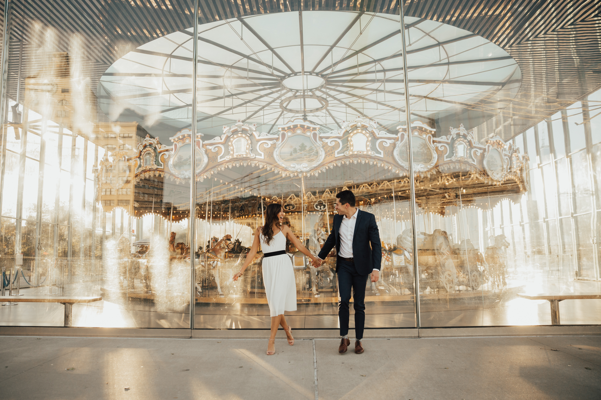brooklyn new york engagement photos