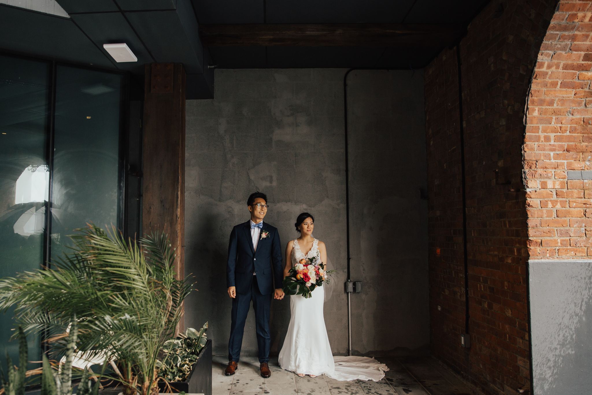 New York Romantic wedding photos