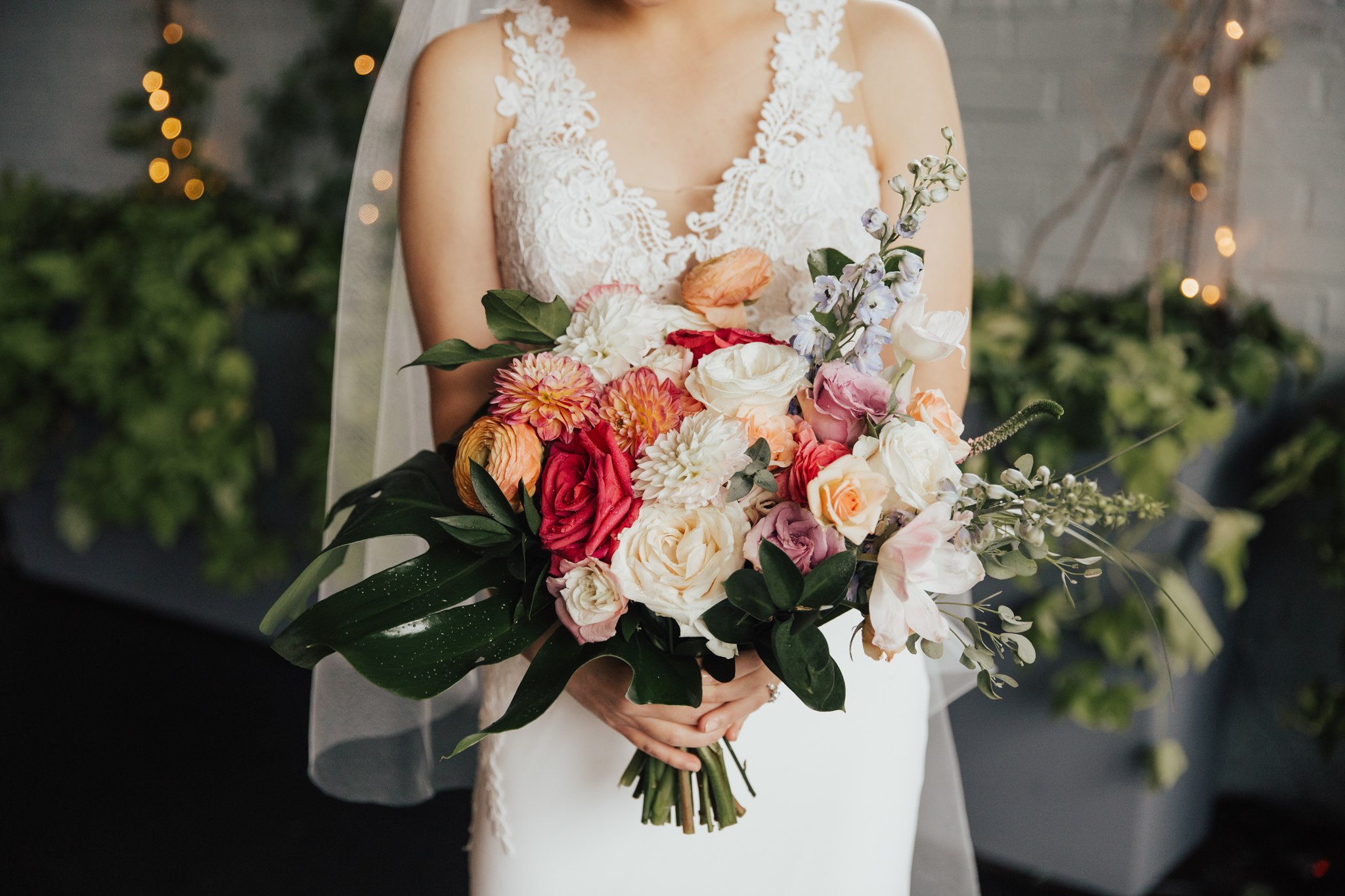 floral bouquet nyc wedding