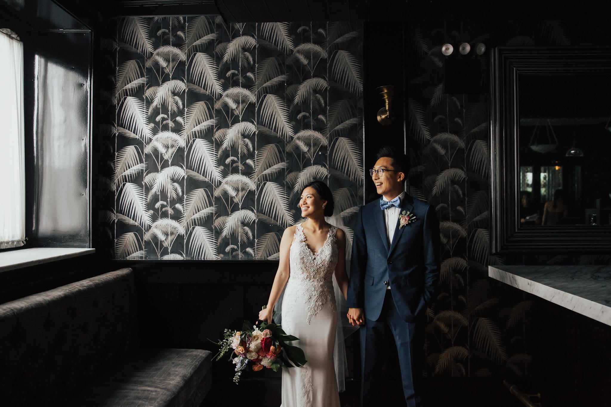 brooklyn artistic wedding