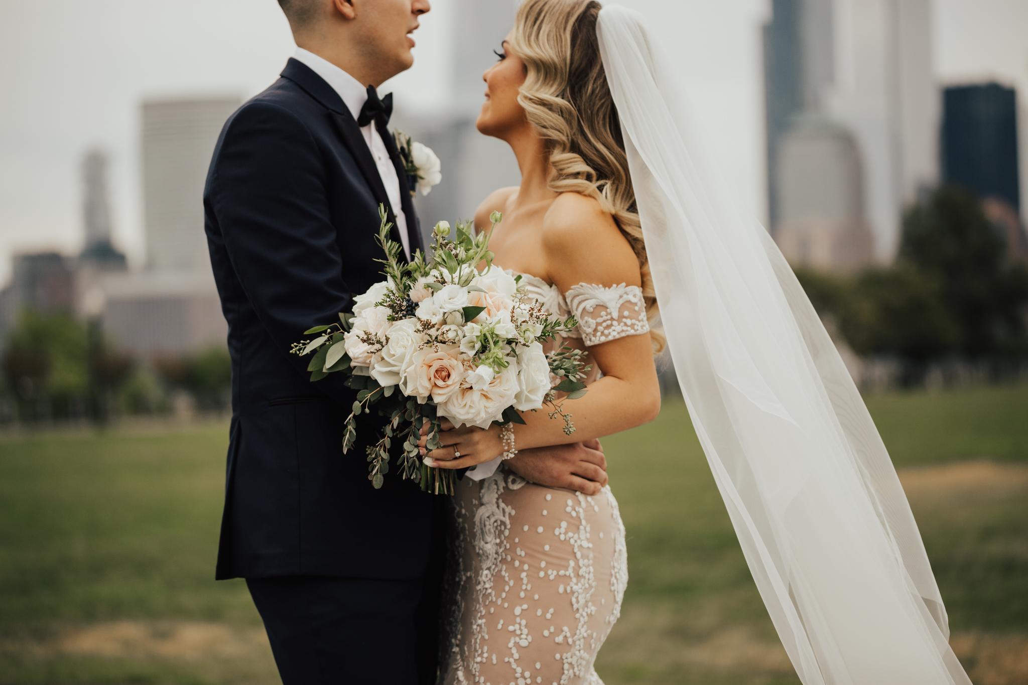 Beautiful outdoor wedding new york