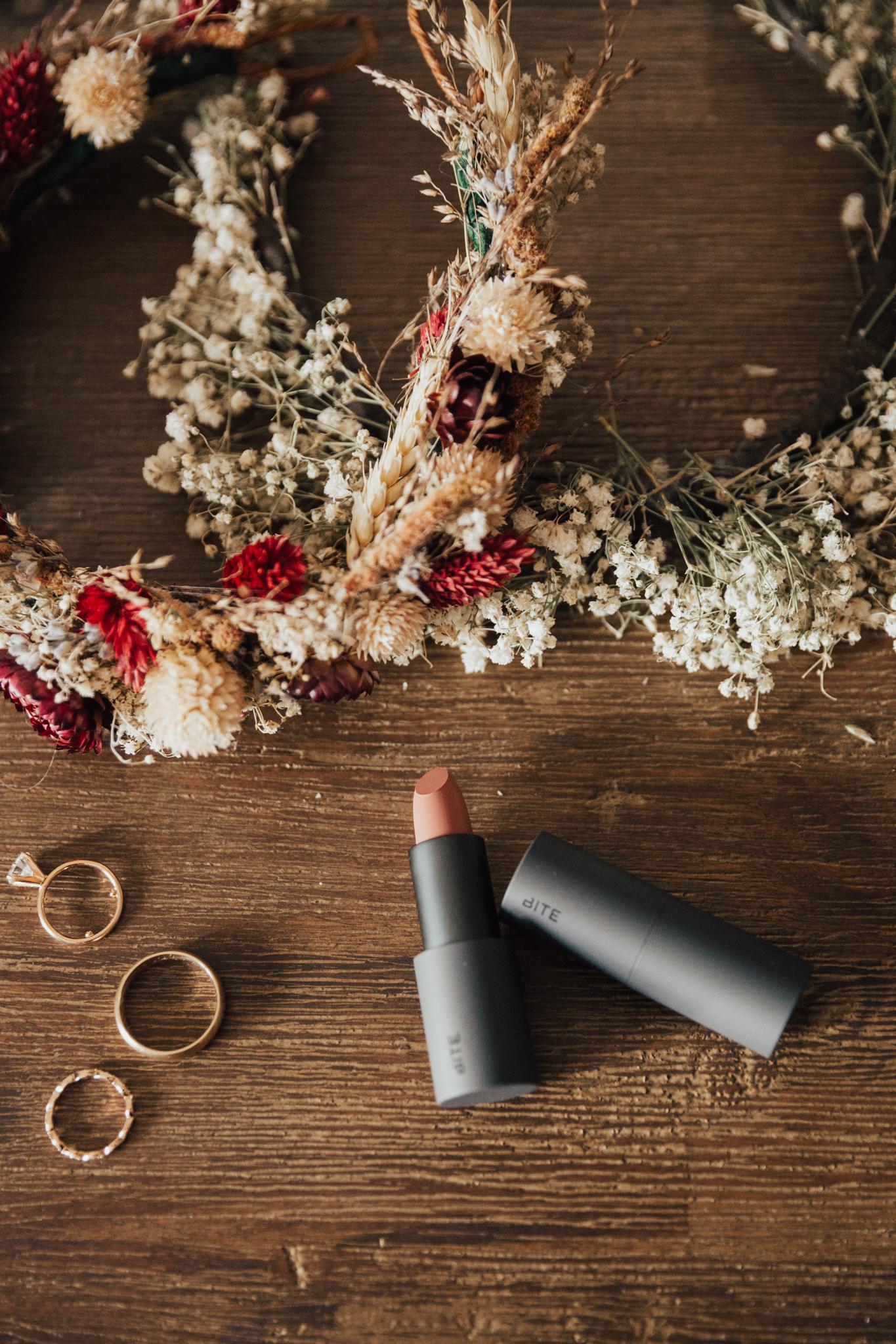 autumn wedding details
