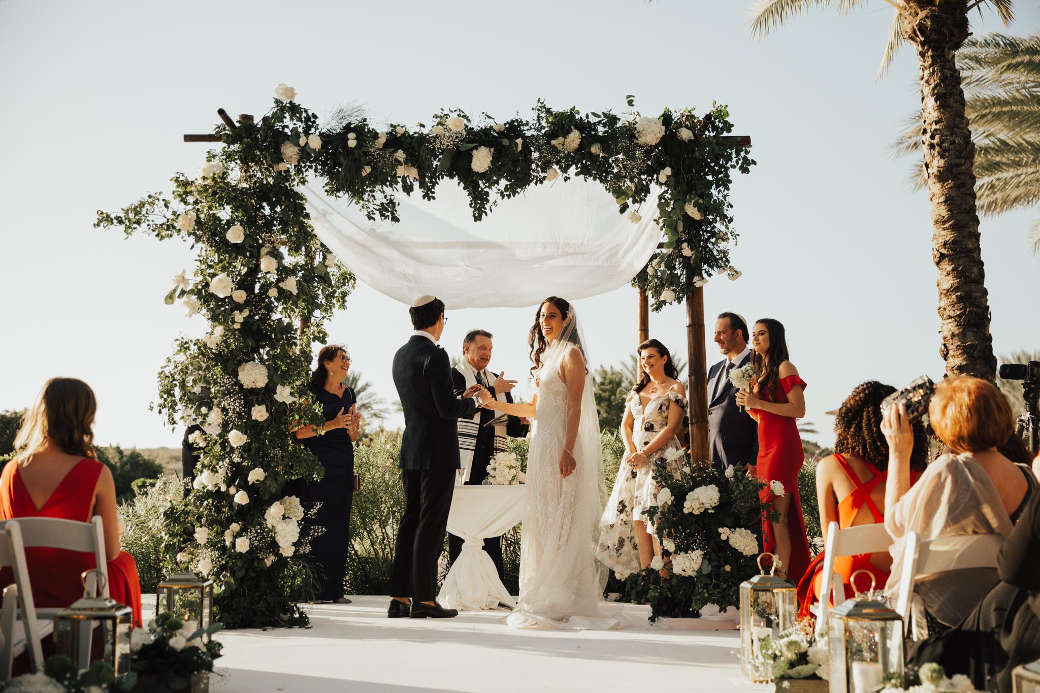 Intimate wedding in Caribbean