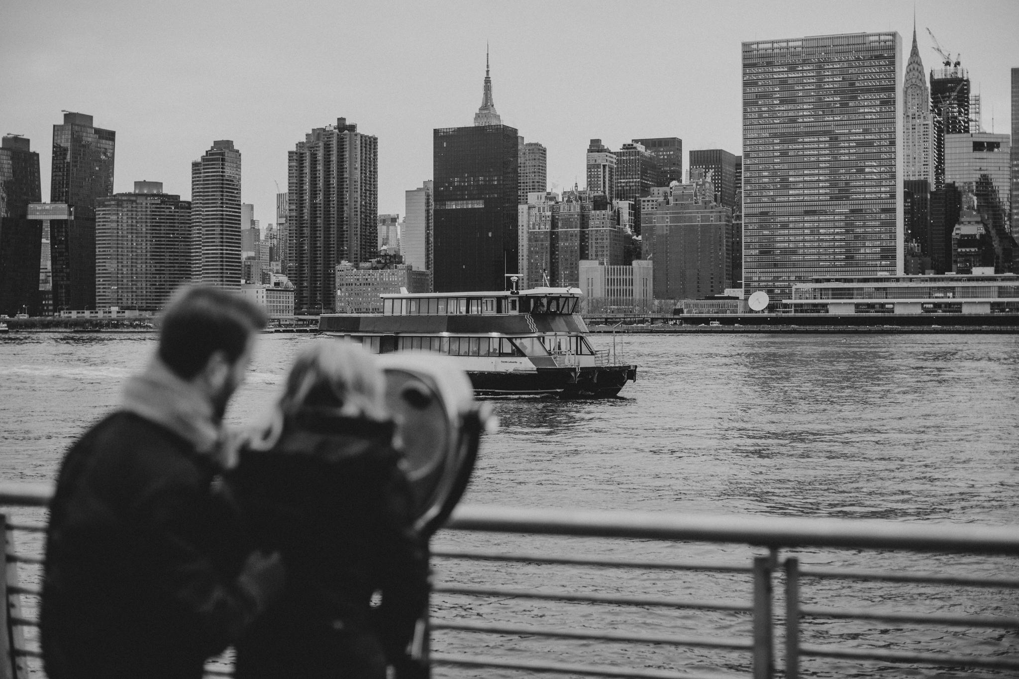 Long Island City Film Engagement Photos
