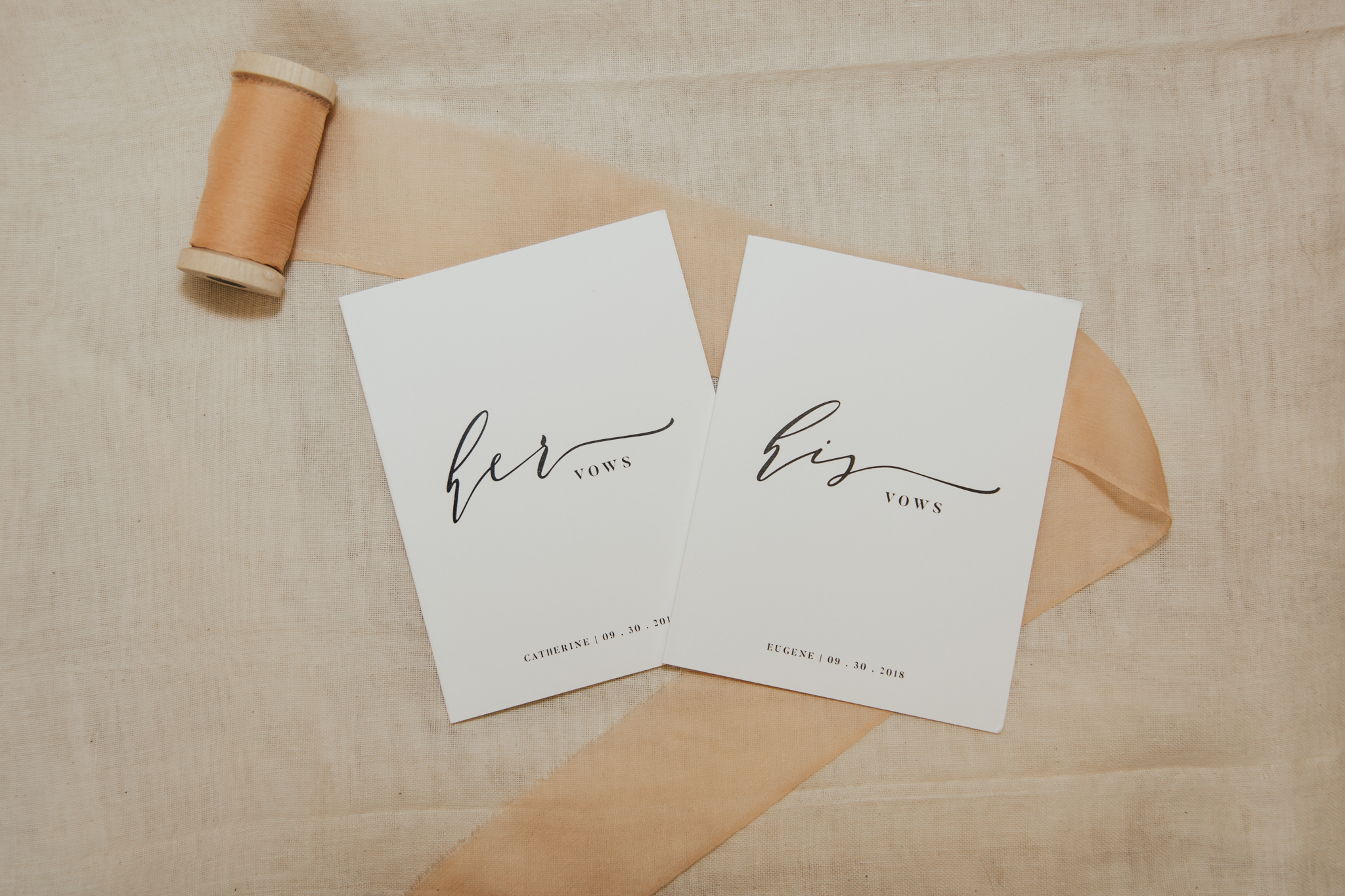 his and her vows