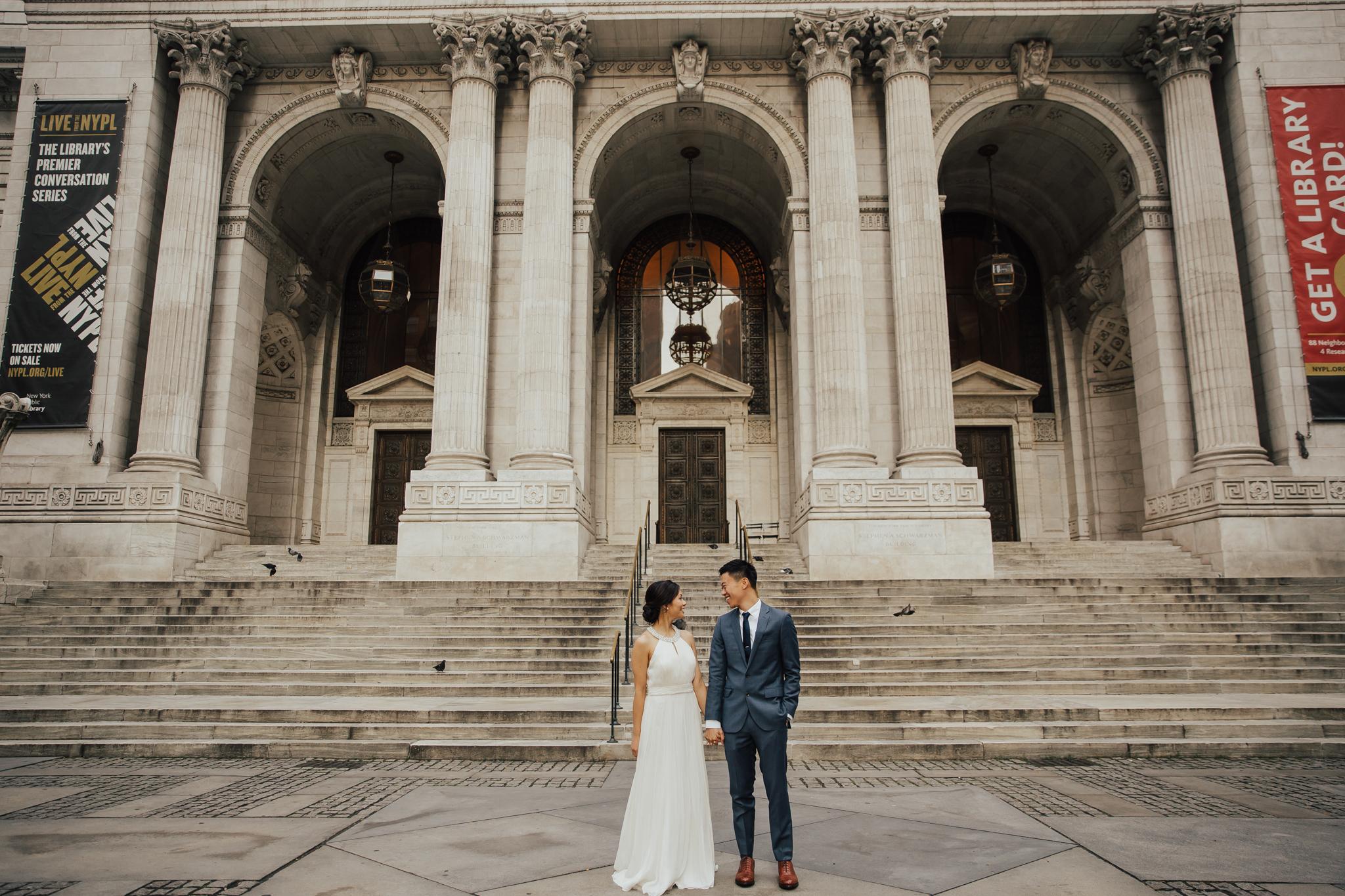 NYPL wedding photography