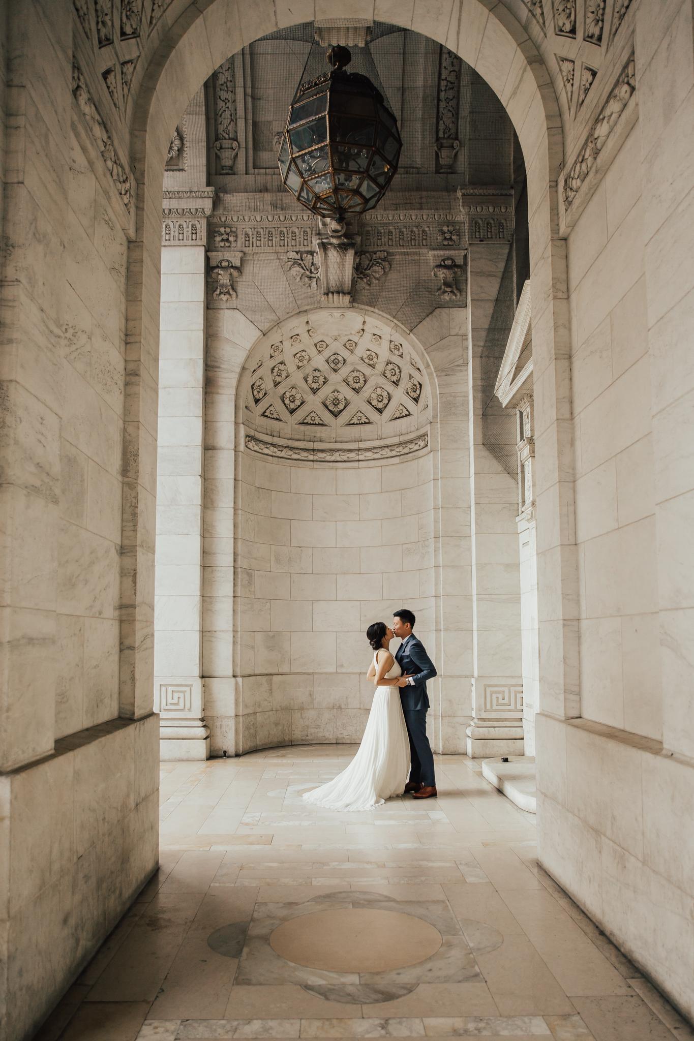 artistic wedding photography nyc