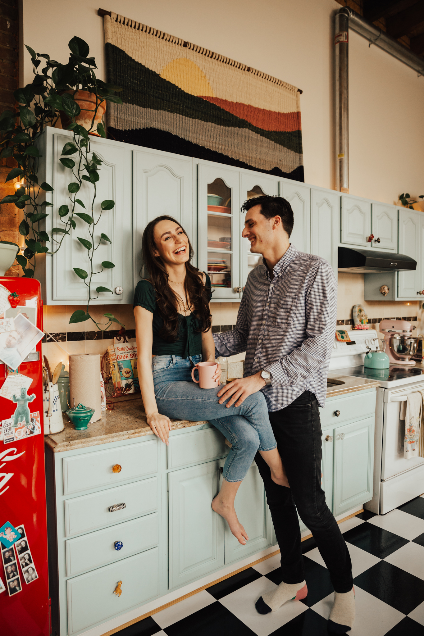 In-Home Brooklyn Engagement