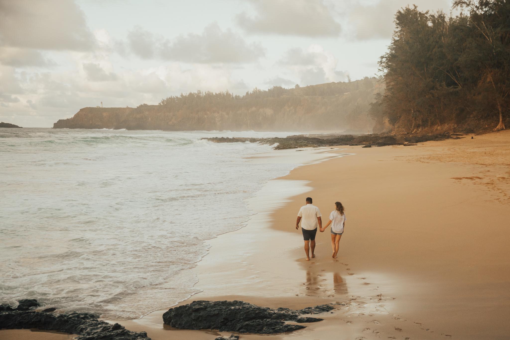 HANALEI BAY, KAUAI engagement