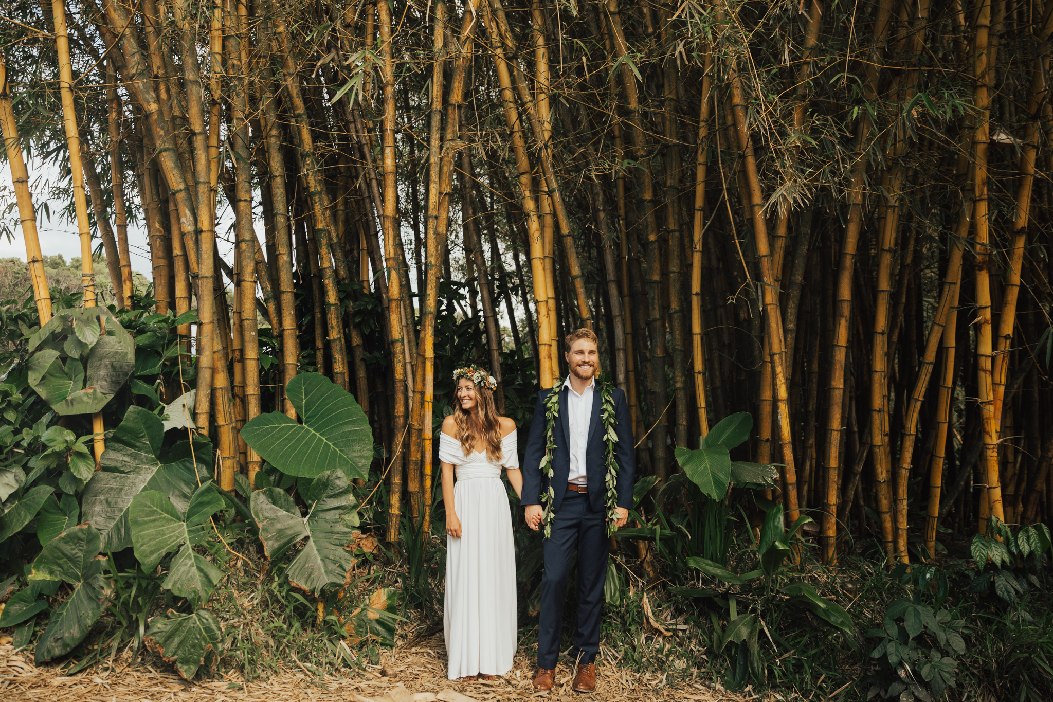 bamboo forest wedding photos