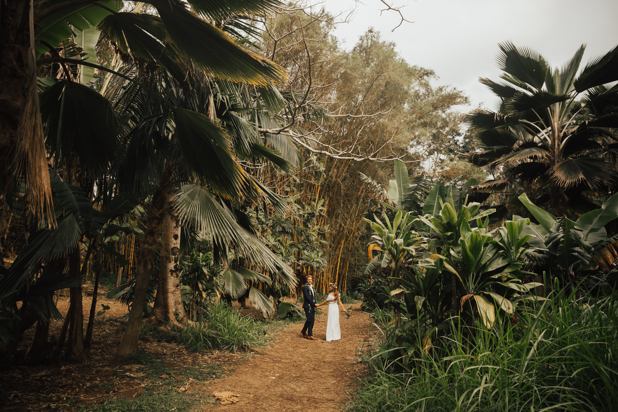 twin falls maui elopement