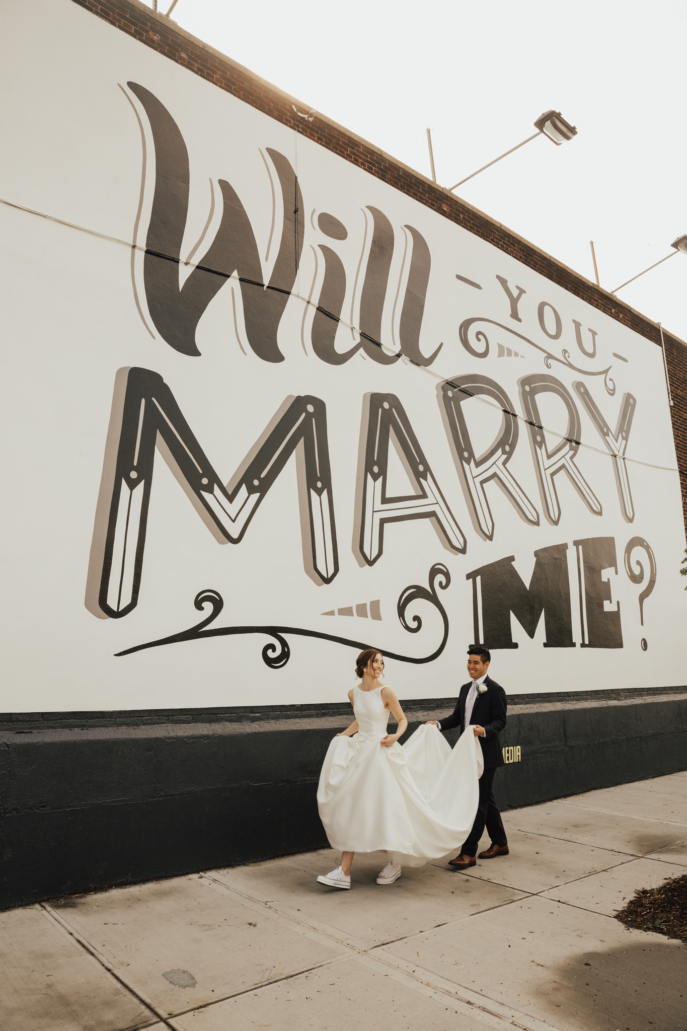 will you marry me graffiti
