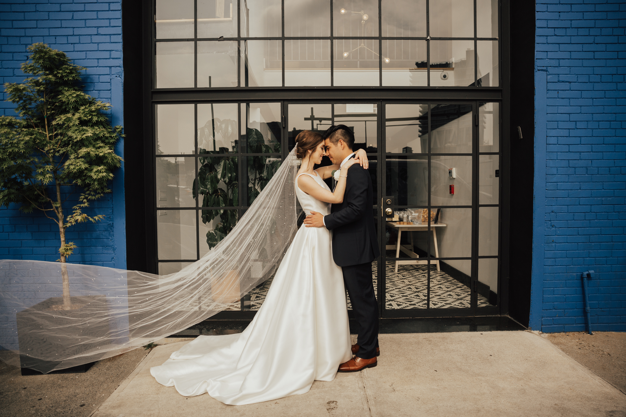brooklyn industrial wedding