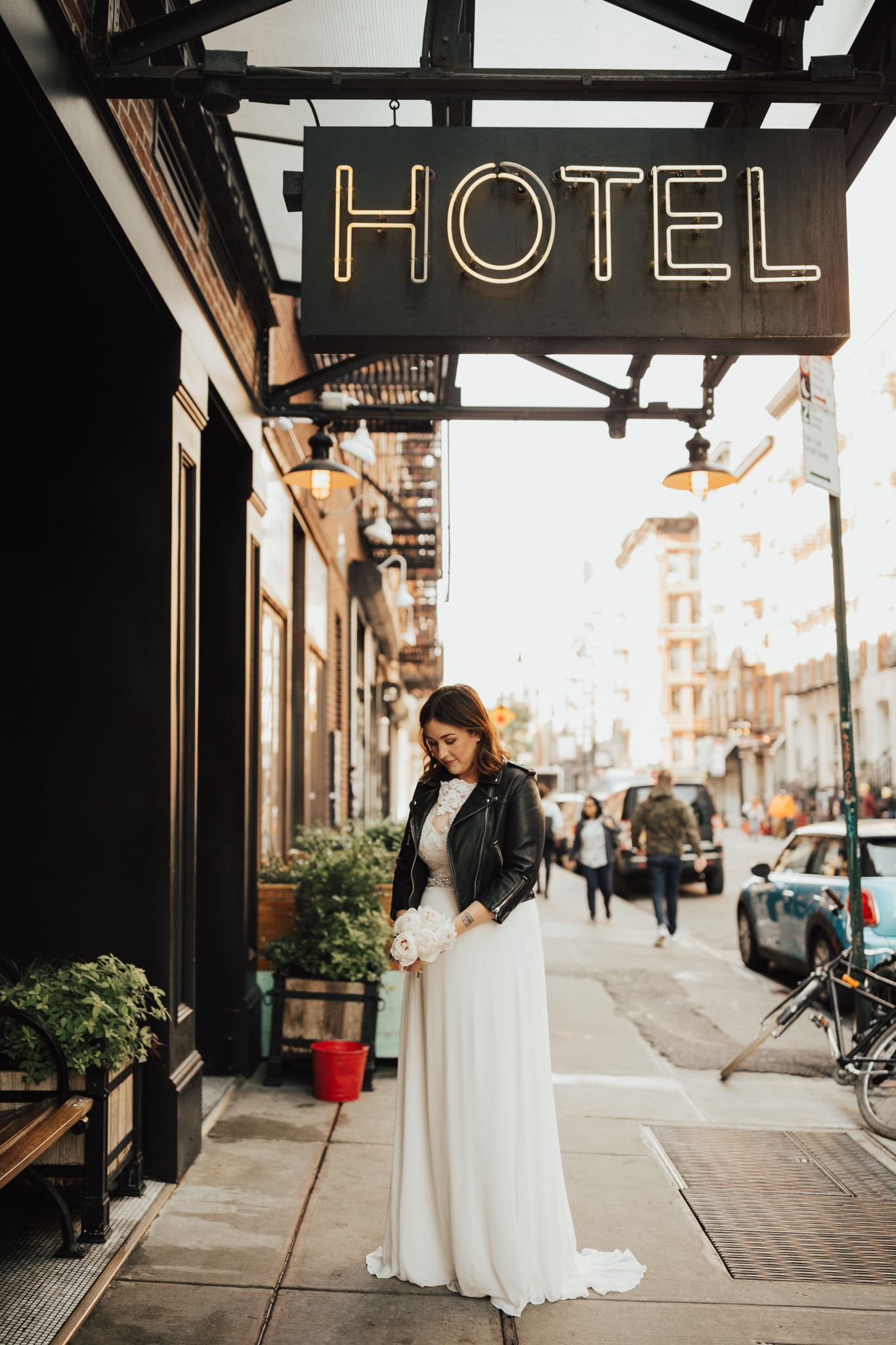 Lower east side NYC elopement