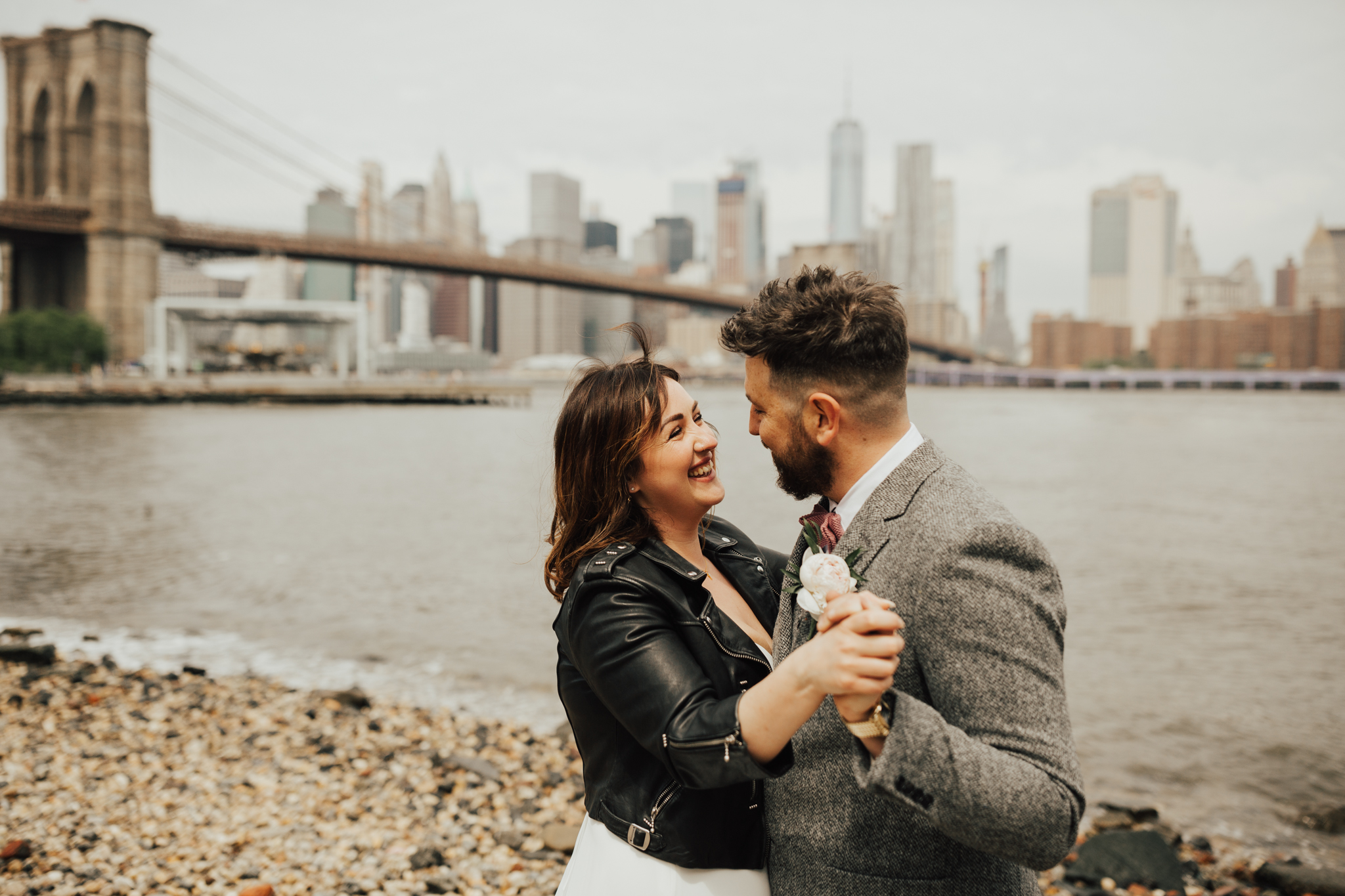 Summer elopement NYC
