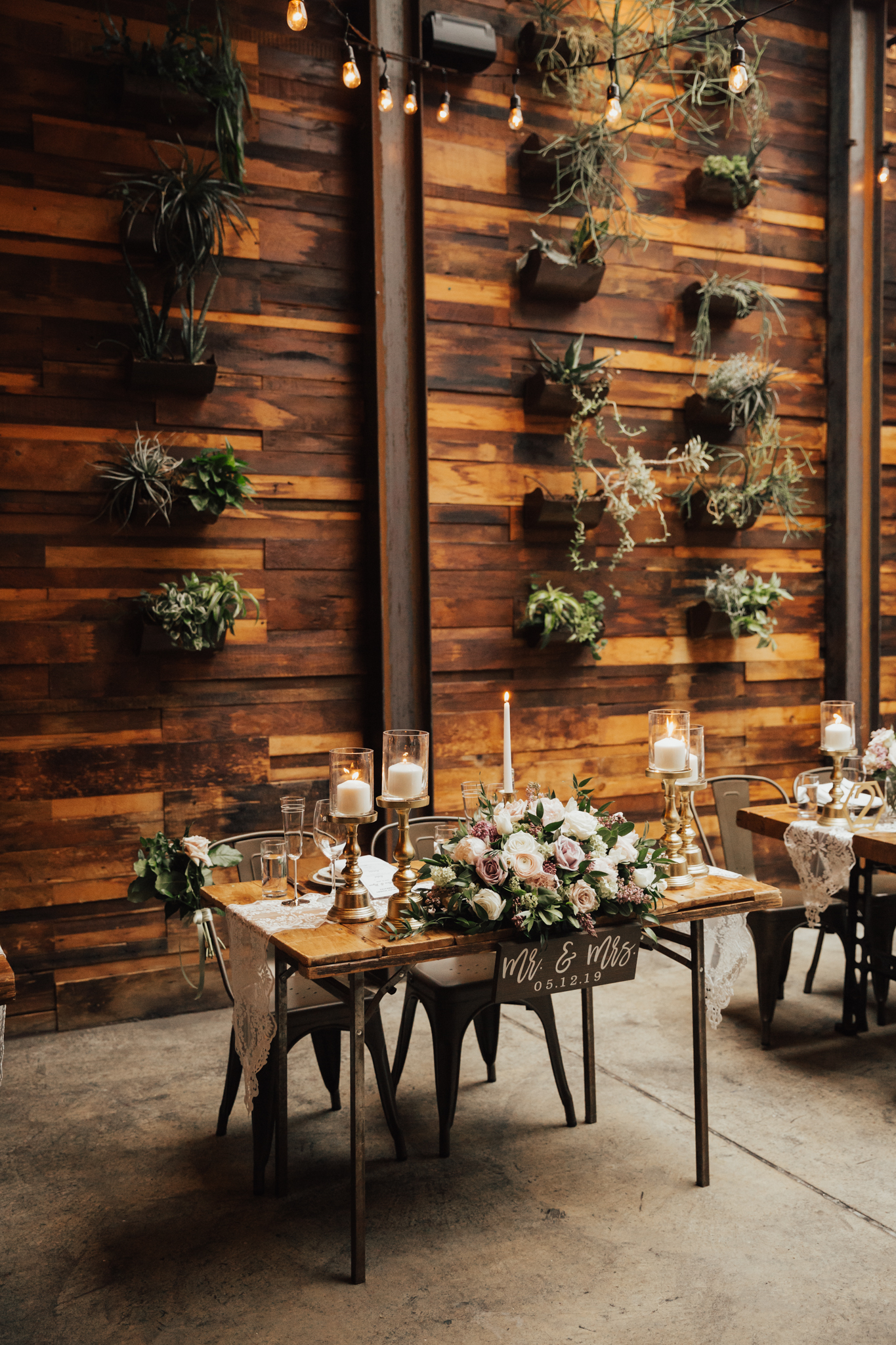 Green Building wedding