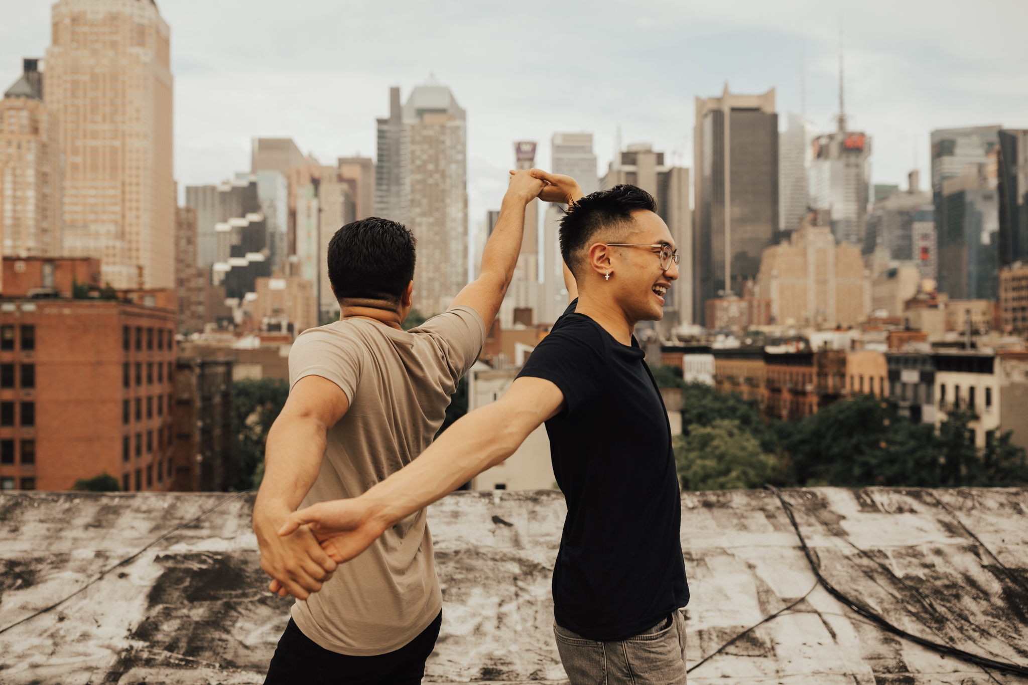nyc gay engagement photos