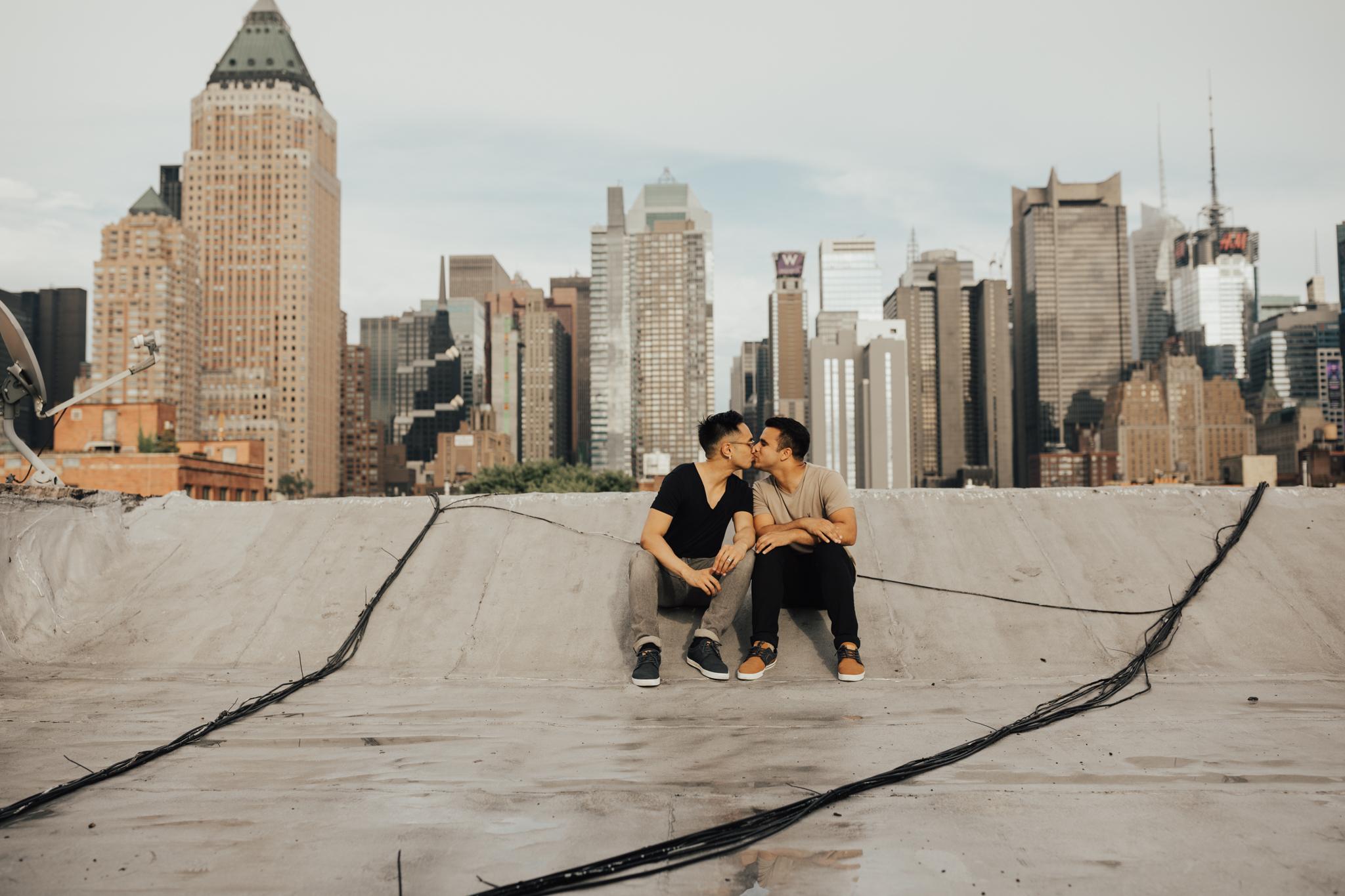 New York Gay Wedding Photographers