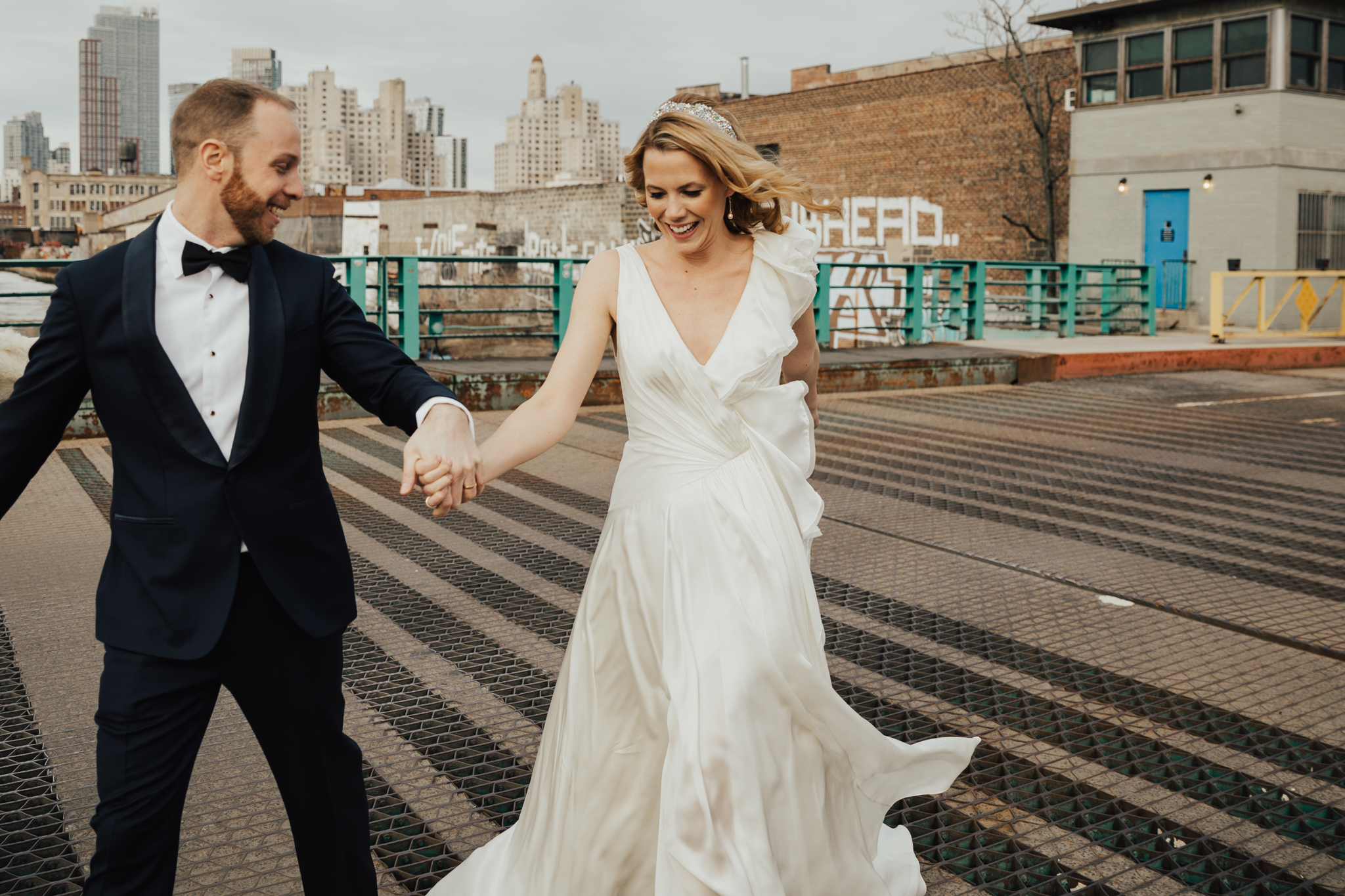 Melissa + Zach - The Green Building Wedding