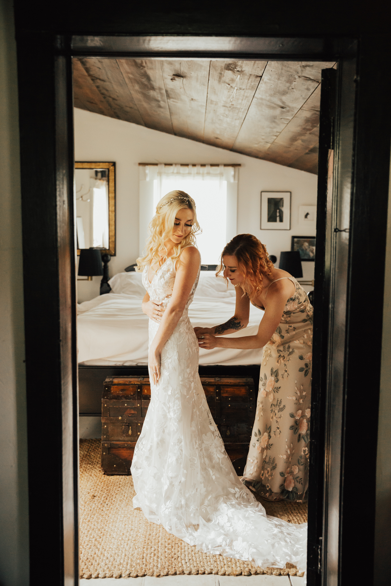 Reformation wedding dress