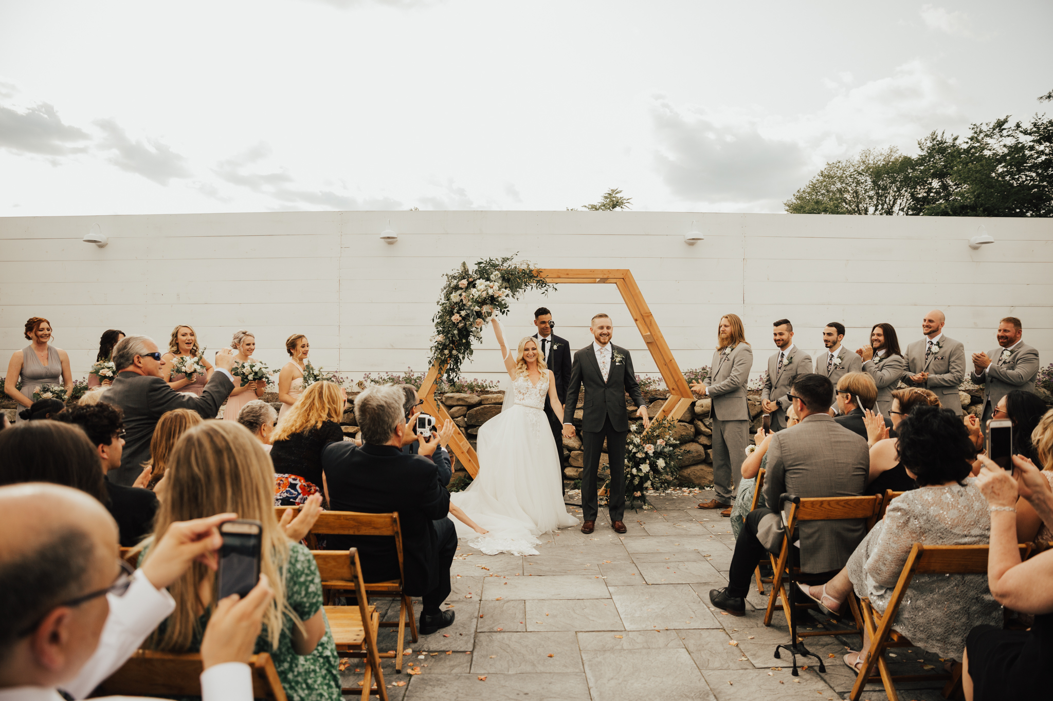 boho Catskills wedding