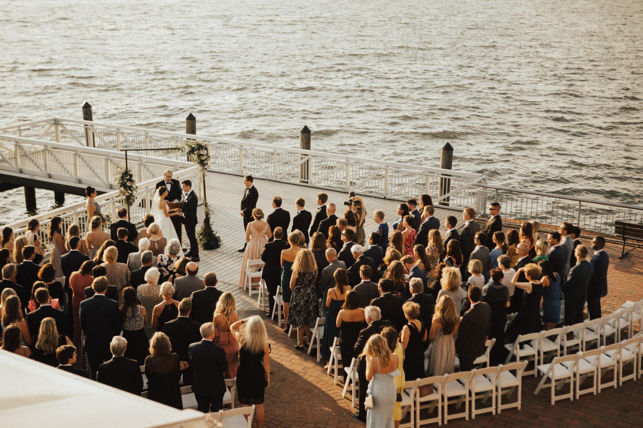 outdoor nyc wedding