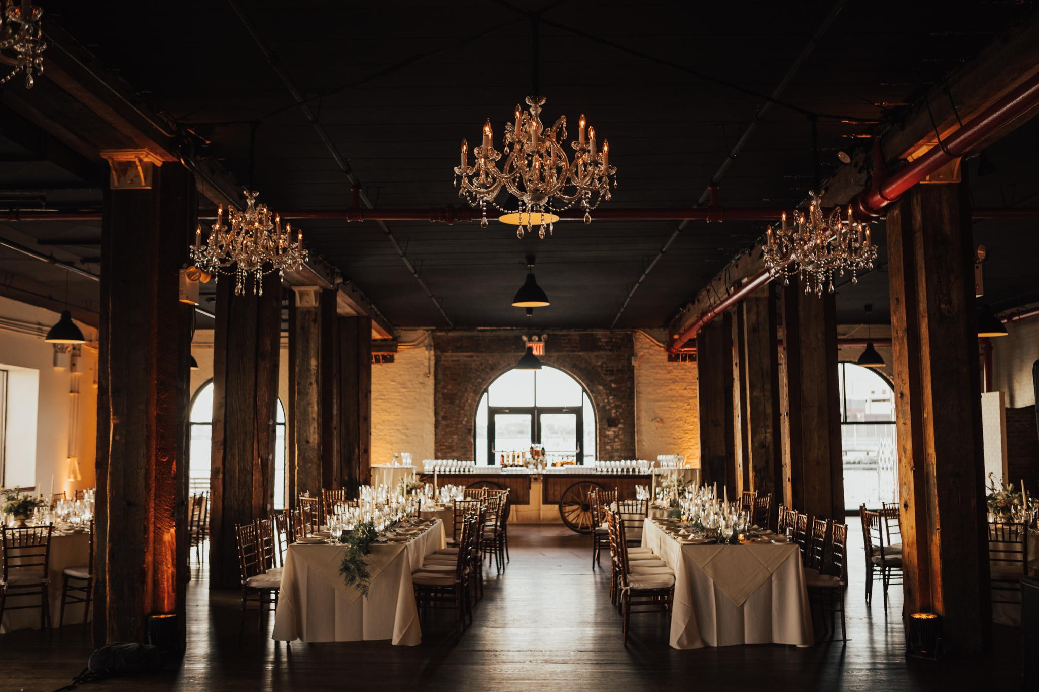 liberty warehouse romantic wedding