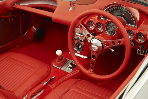 The interior was always beautifully designed. I kept it true to the original GM look but with the steering where we like it ...... on the right side!