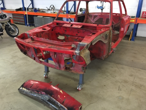 The biggest part of the project was getting the bodywork right
