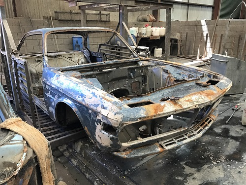 Karmann didn't believe in rust prevension ...... clearly!