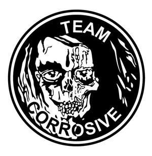 Original Team Corrosive logo. Circa 1987.
