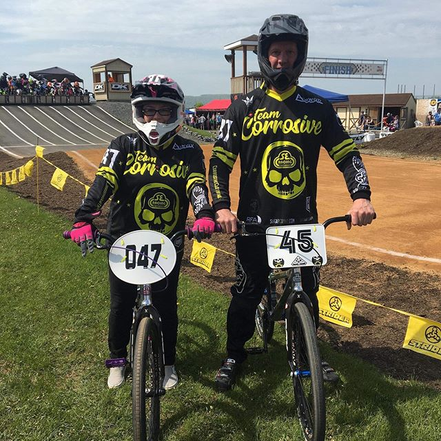 @fishslayer67 and @toniwormold representing up at @horseheads_bmx