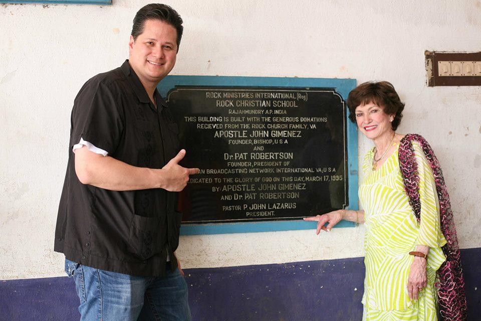 Pastor John Blanchard and Bishop Anne Gimenez
