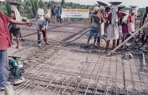 Construction of the Dr. Anne Gimenez Medical Center