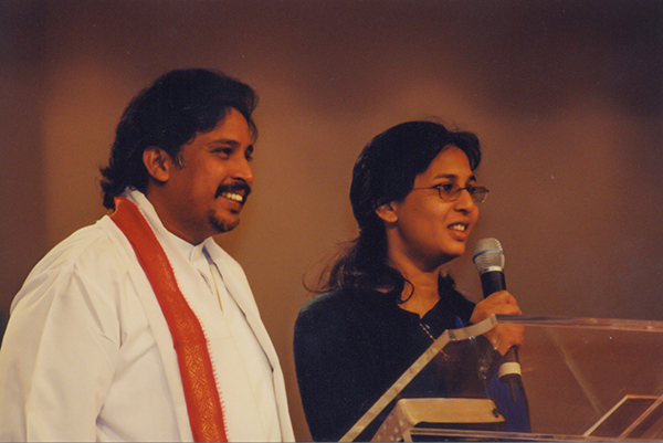 Bishop John Lazarus Pachigalla and Hephzibah Pachigalla