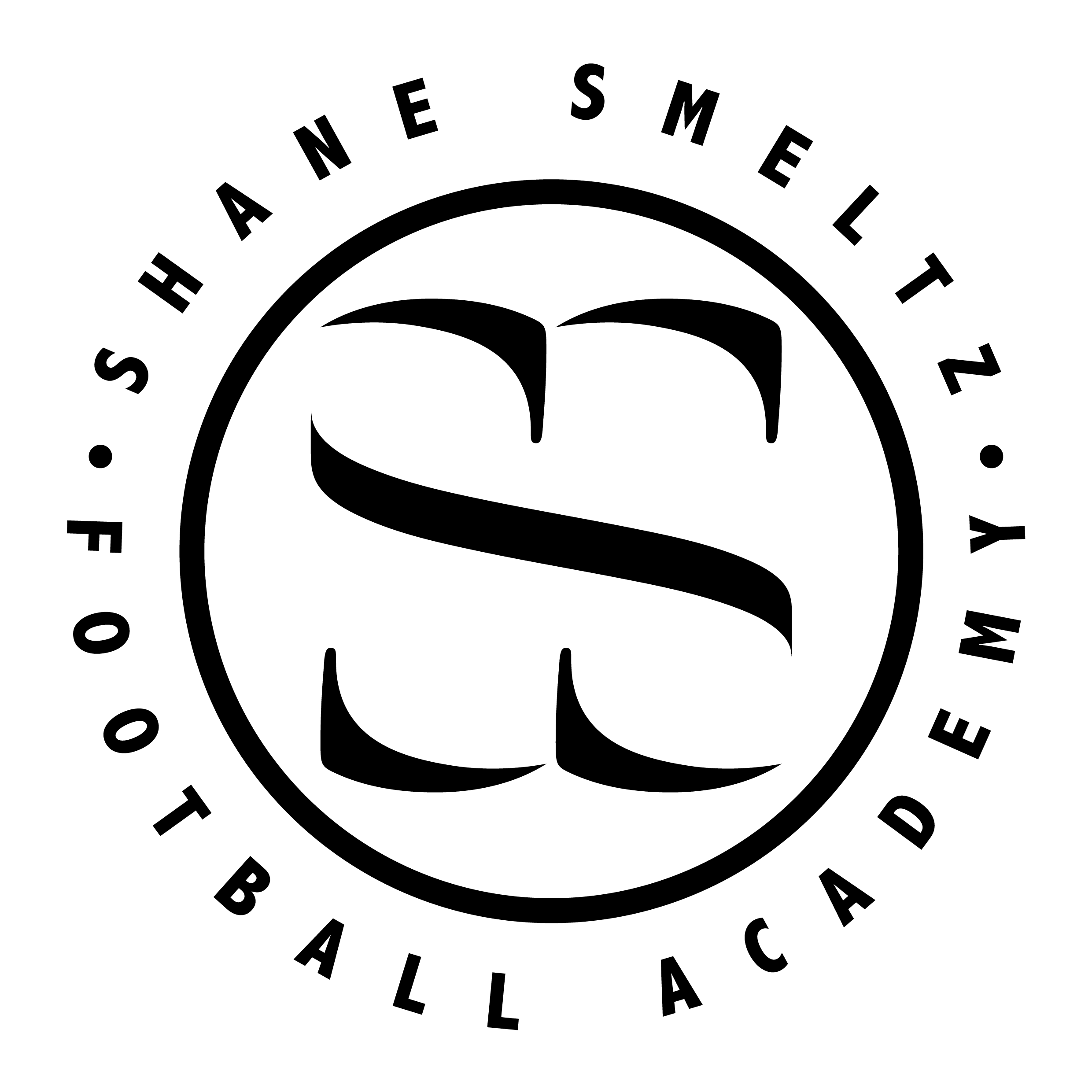 S. SMELTZ Football Academy Logo-01 (Black on White).png