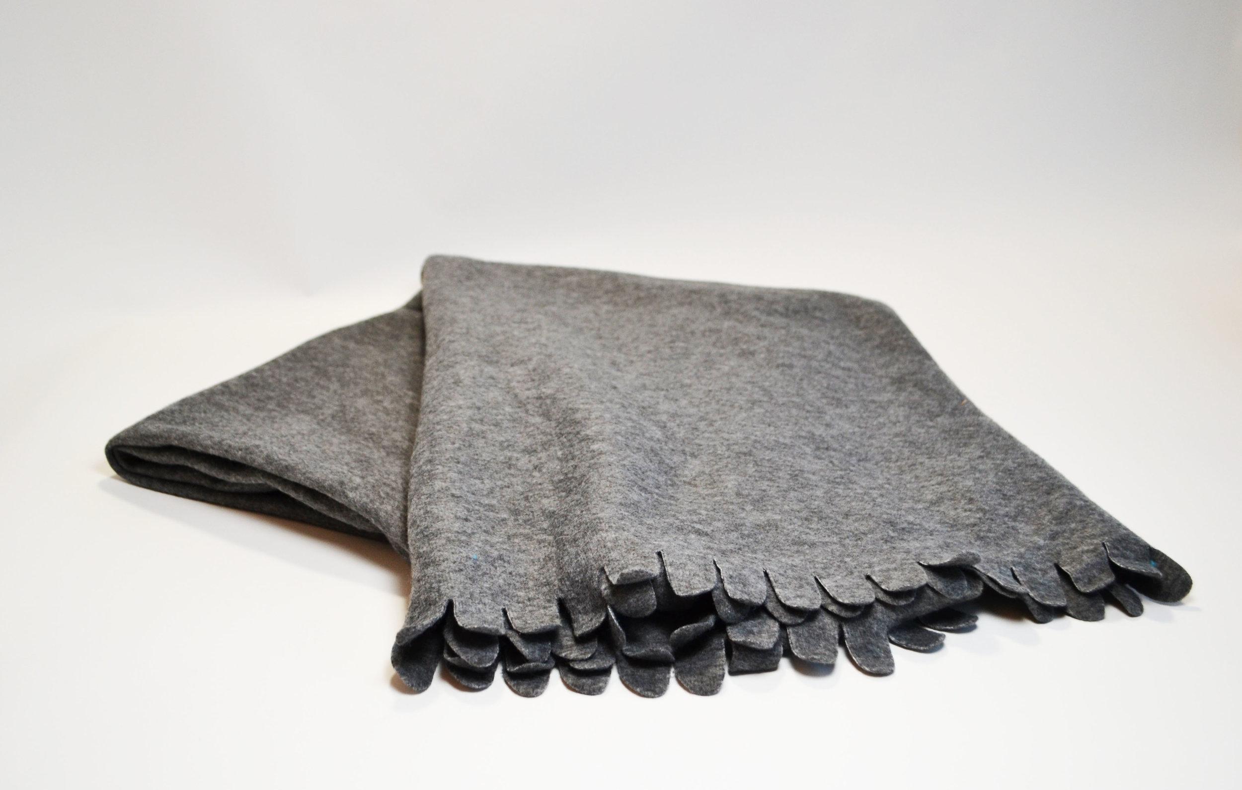 grey blanket   Quantity: 15  Price: $5.50