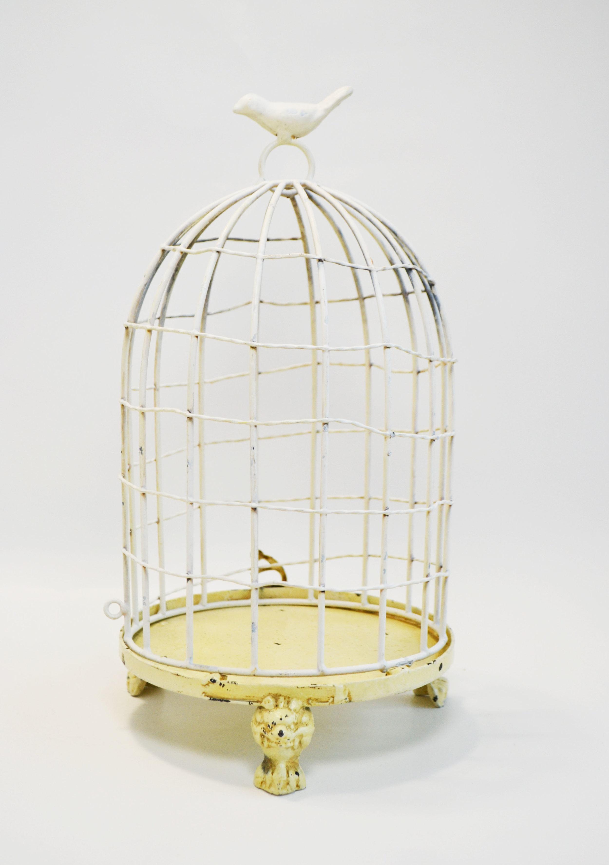 medium bird cage   Quantity: 5  Price: $15.00