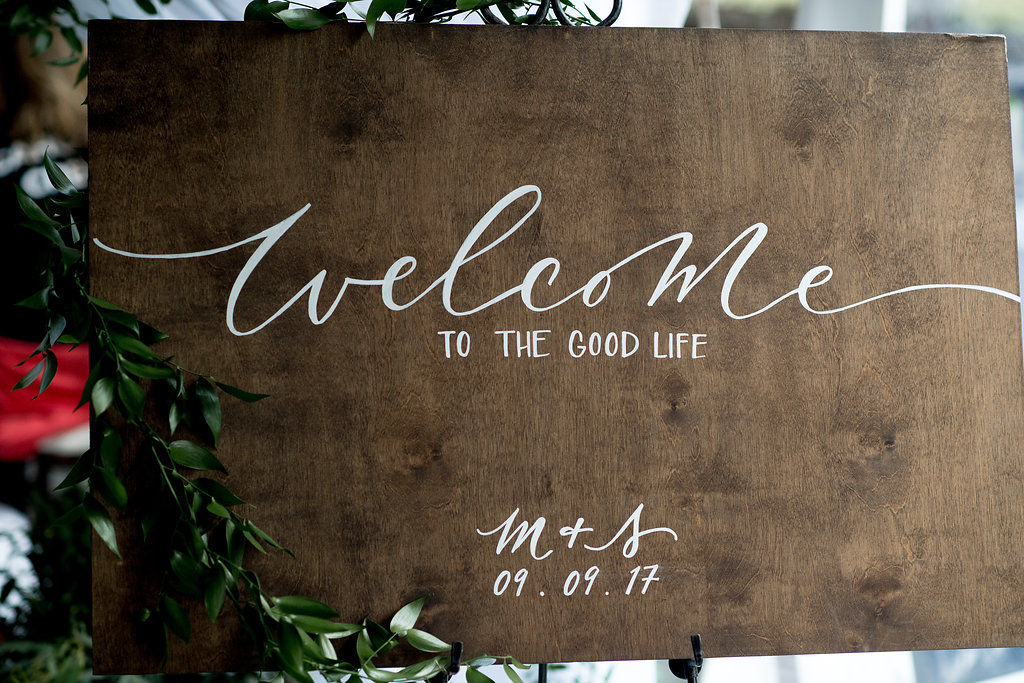 wood sign ii  Quantity: 2  Price: $35.00 ($175 including graphic)