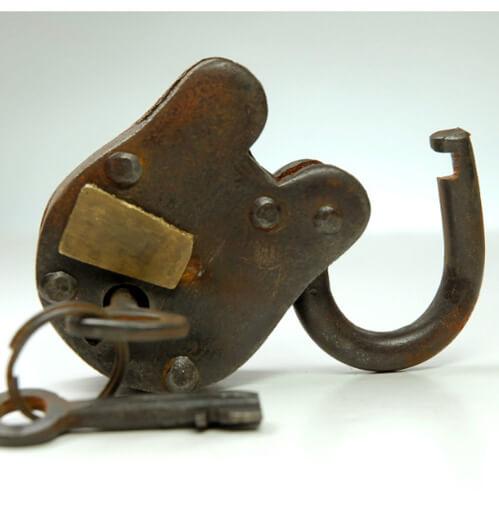 antique lock   Quantity: 1  Price: $5.50